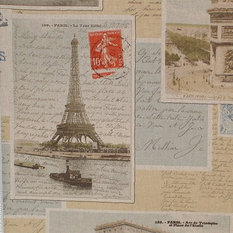 Postcards in french sample
