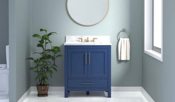 Up to 60% Off Single-Sink Vanities With Free Shipping