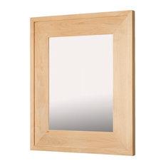 13x16 Fox Hollow Furnishings Mirrored Medicine Cabinet, Unfinished Raised Edge