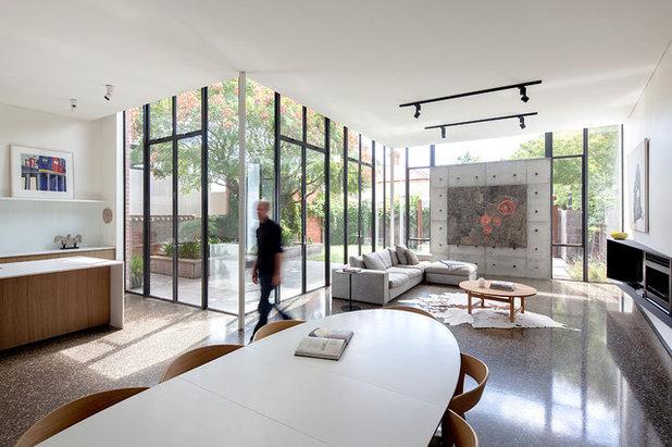 モダン  by Moloney Architects
