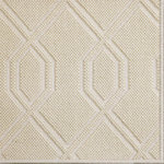 Fibreworks - Luxe Wool Area Rug, London Lights, 10'x14' - Luxe by Fibreworks is an exclusive high fashion design in floor coverings.  Constructed of wool and simply bordered, this rug speaks the language of achievement.  Place this rug in a jewel box closet or grand entryway for maximum impact.  When Luxe is there, you have arrived.