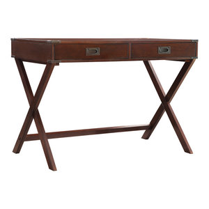 Alastair Campaign Writing Desk, Brown