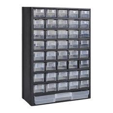 VidaXL 41-Drawer Plastic Storage Cabinet Tool Box