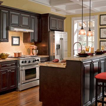 Findley & Myers Palm Beach Dark Chocolate Kitchen Cabinets