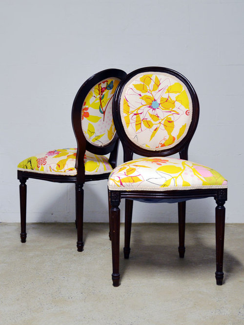 Refurbished Louis XVI dining chairs - Dining Chairs