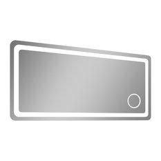 Gold Bathroom Magnifying Mirror Mirrors