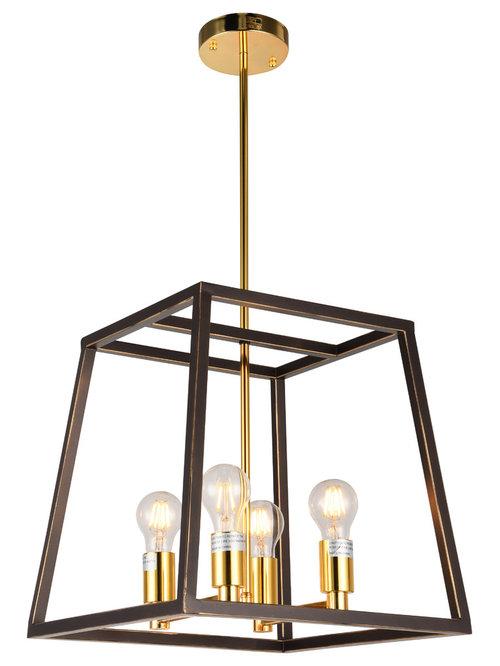 JL Styles Inc - Esporre 4-Light Pendant - Pendant Lighting