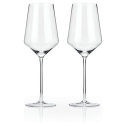 Contemporary Wine Glasses by True Brands