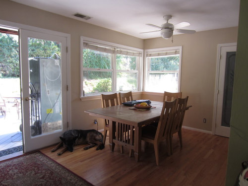 I Need To Know To Center The New Dining Room Fixture As Well As Determine  If I Have Enough Room On The Other Side Of The Table For An Overhang On My  New ...