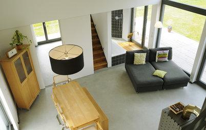 Pflegeleicht & modern: Sichtestrich als Bodenbelag in Wohnräumen
