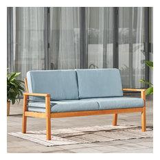 Gloucester Patio Wood 2-Seater Sofa