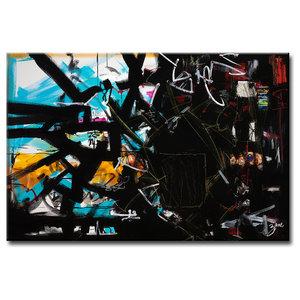 "Ready2HangArt Zane 'Abstract XV, Canvas Wall Art, 20""x30"""
