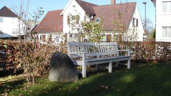 Historische Villa in Achern, Außenanlagen