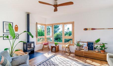Casas Houzz: Un hogar sostenible y cálido para una joven familia