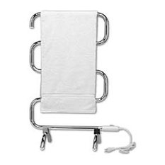 - Free Standing Chrome Heated Towel Rail - Heated Towel Rails
