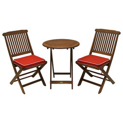 Transitional Outdoor Pub And Bistro Sets by Outdoor Interiors