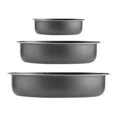 Round Baking Tins, Set of 3
