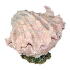 Ocean of Abundance Shell Cookie Jar