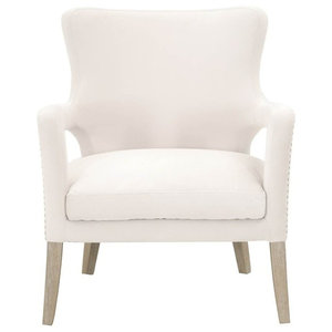 Tremendous Madison Park Colette Accent Wingback Chair With Natural Ocoug Best Dining Table And Chair Ideas Images Ocougorg