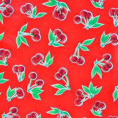 - hule mexicano modelo cereza rojo - Telas para exteriores