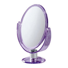 Trendy Free Standing Magnifying Two Faced Mirror