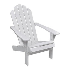 vidaXL Wood Living Room/Garden Chair , White