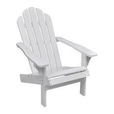 vidaXL Wood Living Room/Garden Chair , White