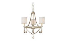 Capital Lighting Fifth Avenue Winter Gold 3 Light Chandelier