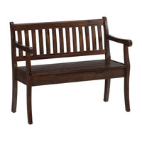 Bowery Hill Storage Bench, Brown
