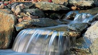 Custom Waterfalls and Streams