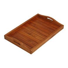 Vivi Spa/Serving Tray, Solid Teak Wood