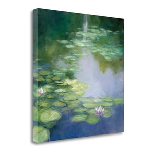"""Blue Lily I"" By Julia Purinton, Giclee Print on Gallery Wrap Canvas"