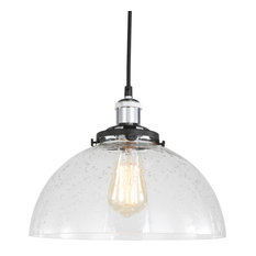 Fulton Clear Dome Mini-pendant with ST64 Bulb