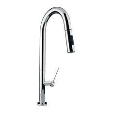 Archer Sink Faucet, Brushed Nickel