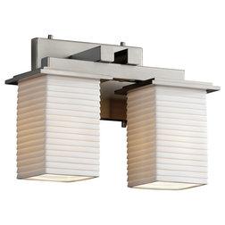 Transitional Bathroom Vanity Lighting by Justice Design Group LLC