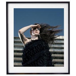 """Jump 001"" Fashion Photography Print, Framed, 58x71 cm"