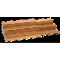 Bamboo Expand-A-Shelf