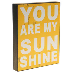 Perfect Rustic Novelty Signs Sunshine Decorative