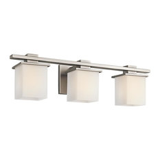kichler lighting tully 3 light bath fixture antique pewter bathroom vanity lighting affordable contemporary vanity lights