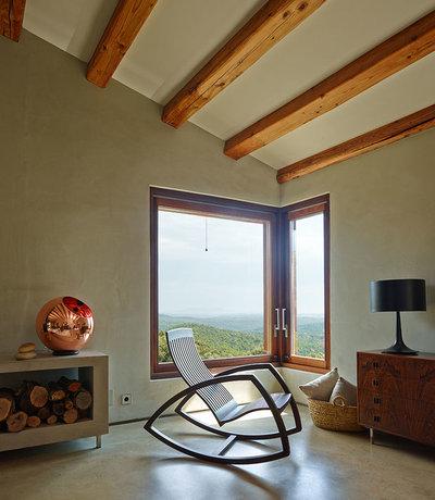 Rústico Sala de estar by Eugeni Pons