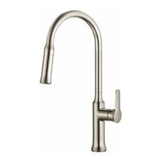 Kraus Nola Single Level Pull Down Kitchen Faucet
