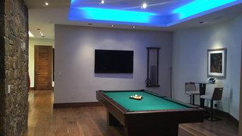 Camarillo Pool Room Lighting