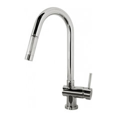 Avant Styles LLC - Polished Chrome Single Hole Kitchen Faucet - Kitchen Faucets