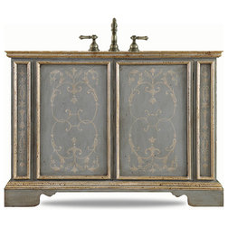 Fabulous Victorian Bathroom Vanities And Sink Consoles by J Tribble