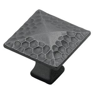 Belwith Hickory 1-1/4 In. Craftsman Black Iron Cabinet Knob P2172-BI Hardware