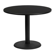 Flash Furniture Round Black Table Top