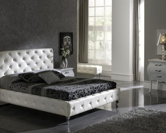 Black Modern Bedroom Furniture master bedroom sets, luxury modern and italian collection