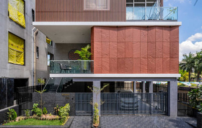 Surat Houzz: Muted Colours, Textures & Materials Define This Home