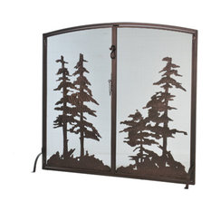 Meyda Lighting Fireplace Screen, 106333