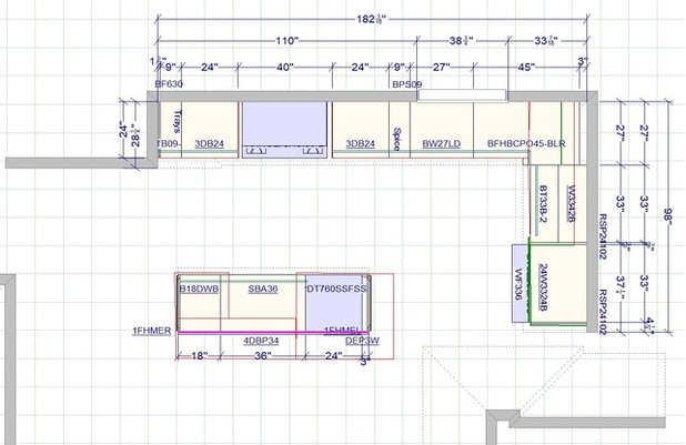 Floor Plan Kitchen of the Week: Updated Layout for Transitional Vermont Space